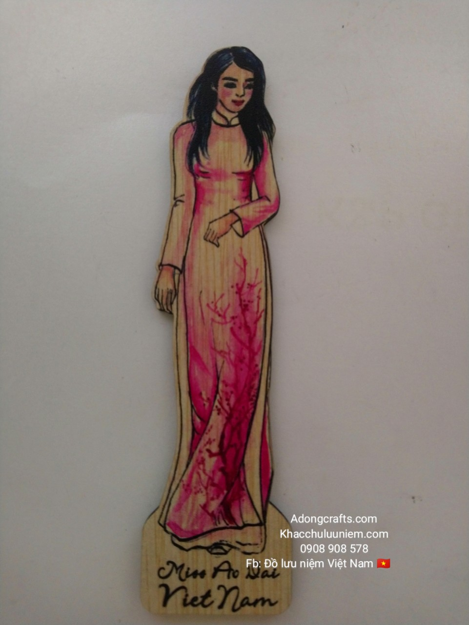 bookmark co gai viet nam ao dai